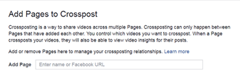 Facebook Crossposting 101: Share Your Video 2