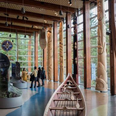 Squamish Lilloette Cultural center, whistler, british columbia, canada