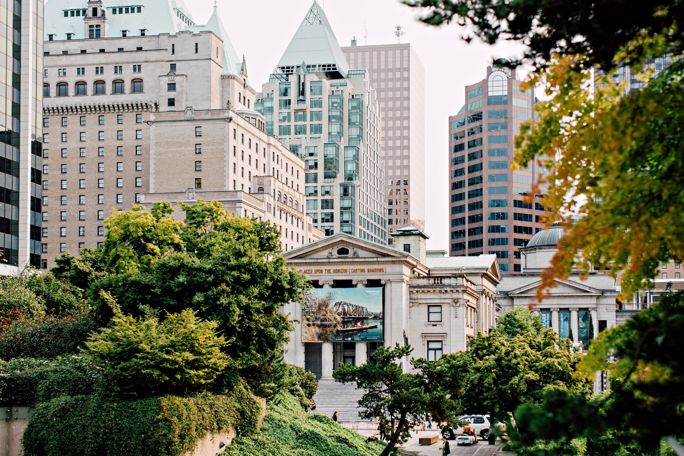 The Vancouver Art Gallery in Vancouver.