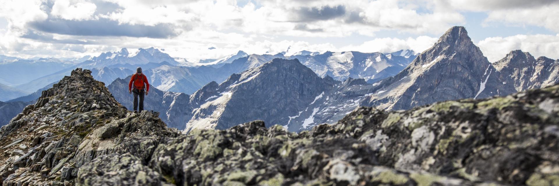 The Kootenay Rockies in British Columbia