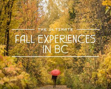 Explore BC Fall campaign 2019