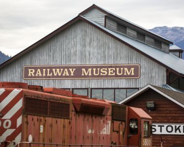 Railway Museum in Revelstoke. Credit: Destination BC/Ryan Creary