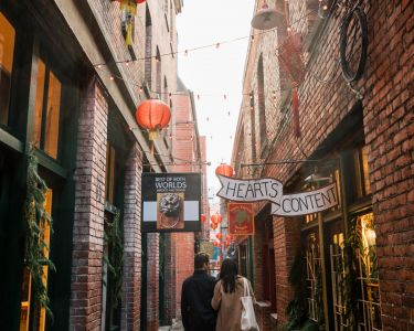 Fan Tan Alley in Victoria