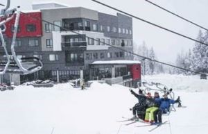 The boutique ski-in, ski-out hotel is mere steps from RED Mountain Resort
